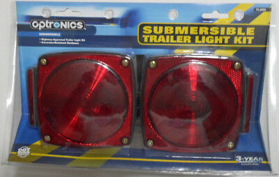 Optronics Submersible Boat Trailer Light Kit with Wiring TL9RK DOT Compliant