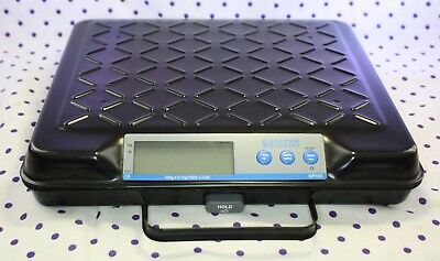 Salter Brecknell GP100 100lb Portable Electronic LCD Utility Bench Table Scale