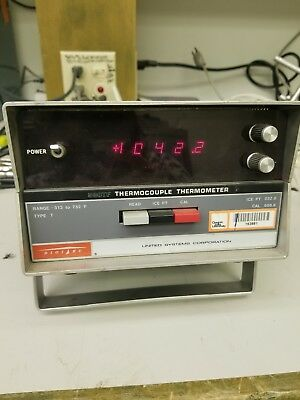 United Systems Corp 590TF Thermocouple Thermometer Digi IEC