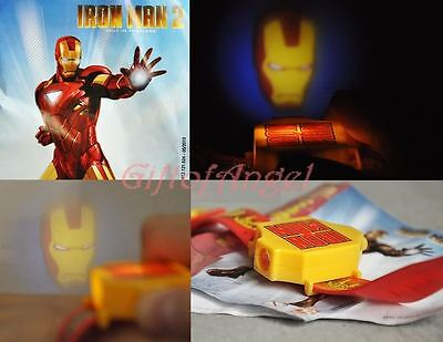 Marvel Dc Iron Man Movie Torch Watch Projector Light A129