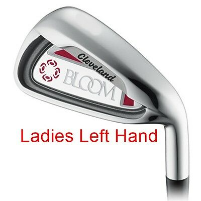 Cleveland Bloom No. 8 Iron (Pink) - Graphite - Ladies Left Hand - New!