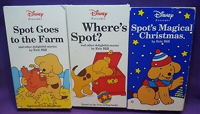Lot Of 3 Disney Spot Vhs Tapes Goes To The Farm Magical Christmas Tested Works 8 99 Picclick