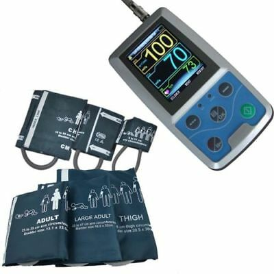 ABPM50 24 hours Ambulatory Blood Pressure Monitor ABPM Holter BP,a suit cuff,FDA