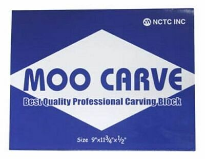 MOO Carve block for printing (linocut) & stamp making - 9in x 11.75in