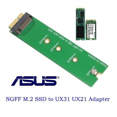 M.2 NGFF SSD To PCi-e mSATA 18 Pin Adapter Card SSD For Asus UX31 UX21 Zenbook