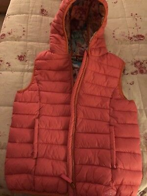 Next Girls Lightweight Padded Gilet. Age 14 Years