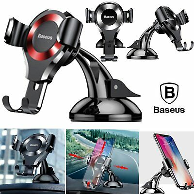 Baseus 360° Gravity Universal Car Mount Holder Phone Stand Cell Phone GPS Cradle