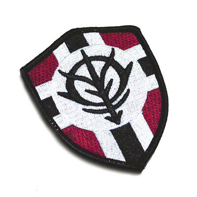 GUNDAM ZEON Flag Cosplay Embroidered Patch Badge Bags Arm Appliques Patches Prop