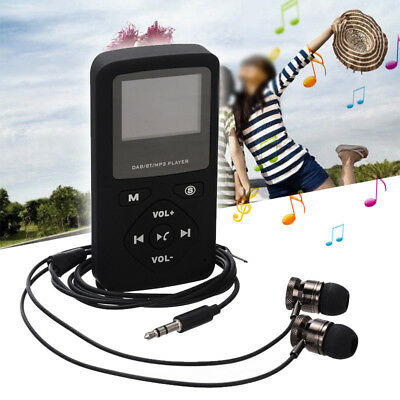2018 Mini Multi-function Digital DAB+FM Radio Receiver USB Bluetooth MP3 Player