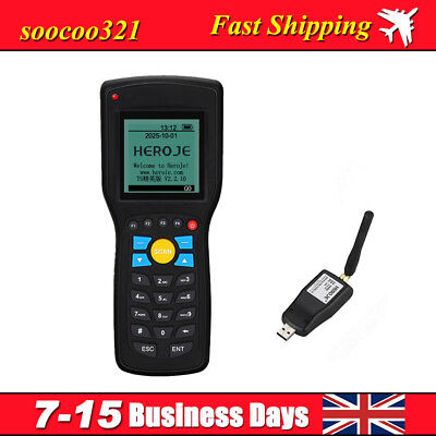 Portable Wireless Barcode Reader Terminal Data Collector Scanner For Warehouse