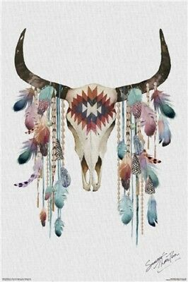 Summer Thornton - Tribal Skull POSTER 61x91cm NEW