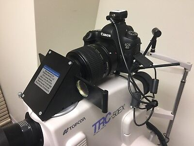 Topcon 50 EX and Fundus Photo Imaging System, including color, FA, FAF and ICG