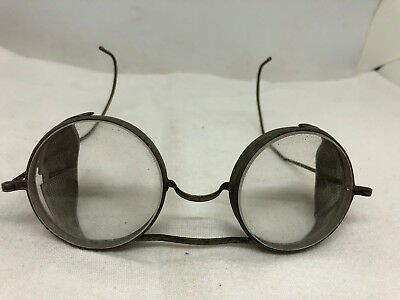 Vintage Welding Goggles Safety Glasses Eyewear Steampunk Metal