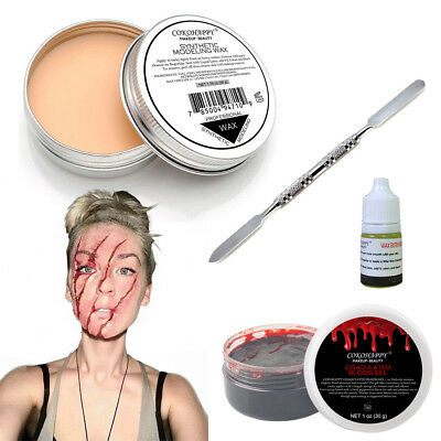Halloween Party Stage Special Effects Wound Scar Family Makeup Kit