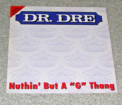 """Dr. Dre - Nuthin' But A """"G"""" Thang (12"""" Maxi/EP, Interscope 1992)"""