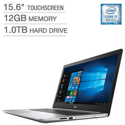 "Brand New Dell Inspiron 15 i5570-7814SLV-PUS 15.6"" FHD T/S Laptop - i7-8550U"