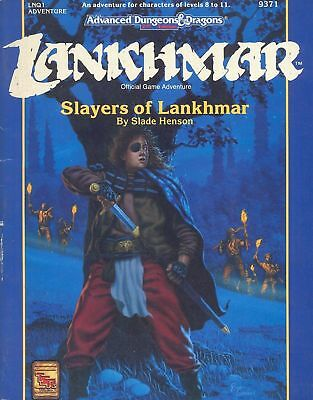 (AD&D) Advanced Dungeons & Dragons 2nd Edition LANKHMAR - Slayers of Lankhmar