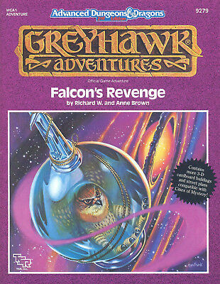 (AD&D) Advanced Dungeons & Dragons GREYHAWK Adventures - Falcon's Revenge