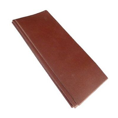 30 x 1/3 Sanding Sheets Sandpaper Assorted Grade Use With Clip Sander Machines