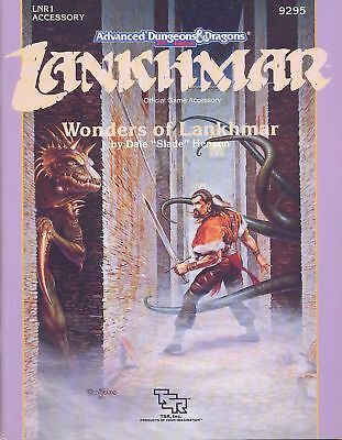 (AD&D) Advanced Dungeons & Dragons 2nd Edition LANKHMAR - Wonders of Lankhmar
