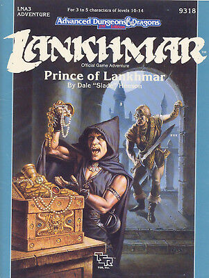 (AD&D) Advanced Dungeons & Dragons 2nd Edition LANKHMAR - Prince of Lankhmar