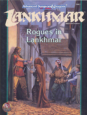 (AD&D) Advanced Dungeons & Dragons 2nd Edition LANKHMAR - Rogues in Lankhmar