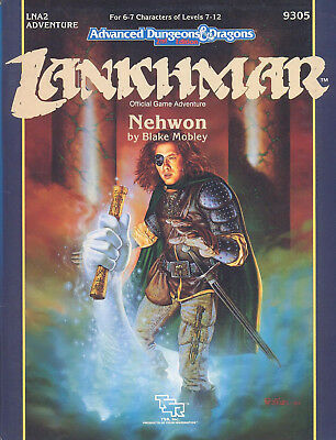 (AD&D) Advanced Dungeons & Dragons 2nd Edition LANKHMAR - Nehwon