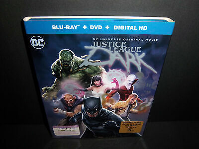 Justice League Dark (2017 Blu-ray + DVD) Zatanna, Wonder Woman, Superman