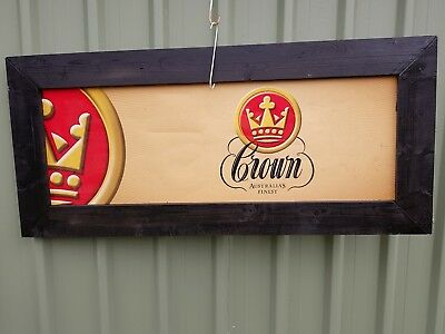 Crown Larger sign