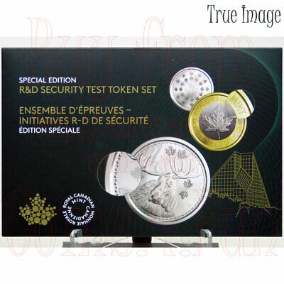 2018 - Royal Canadian Mint - R&D Security Test 6-Token Set - Canada