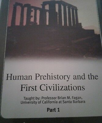 Great Courses Human Prehistory and the First Civilizations