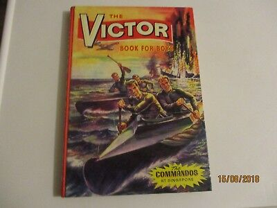 victor book for boys 1965 excellent. unclipped