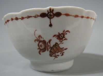 China Chinese Polychrome Porcelain Export Bowl w/ Floral Decoration ca. 19th c