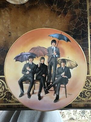 The Beatles Limited Edition Plates (4) Numbered
