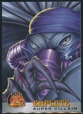 1996 X-Men Trading Card #64 Emplate