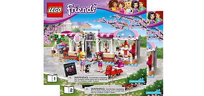 Lego Friends Notice Instruction 41119 Neuf New Heartlake Cupcake