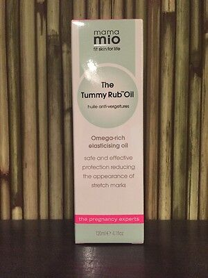 Mama Mio Tummy Rub Oil NEW 120ml / 4.1fl oz