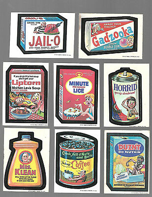 1973 Topps Wacky Packages Original 1st Series 1 partial  1930 w/b