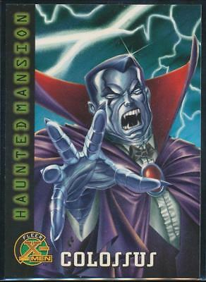 1996 X-Men Trading Card #91 Colossus as Count Vampire