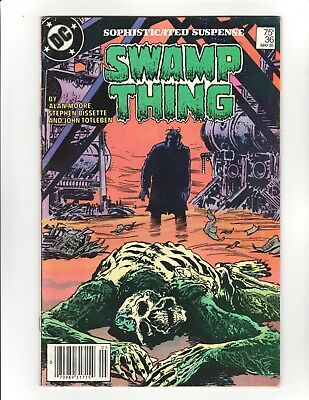 Swamp Thing (1982 2nd Series) #36 - 7.0 - Alan Moore Story, High Res Scans!