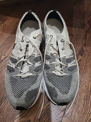 best service 0988a c2e2c Nike Flyknit Trainer Pale Grey M Sz 11 or W Sz 12.5 lightly worn gray rare