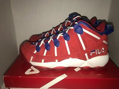 NEW FILA MENS SPAGHETTI 95 FS1HTA1014X WHITE NAVY