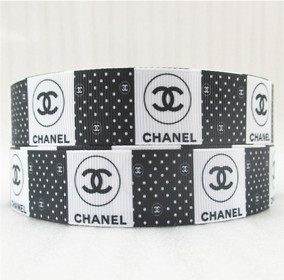 Grosgrain Ribbon Chanel #6  25mm (1m, 2m or 5m)