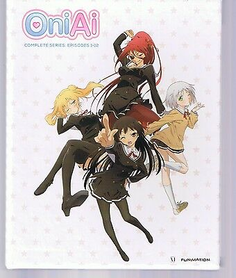 OniAi: Complete Series Limited Edition (Blu-ray Disc/DVD, 2013, 4-Disc Set)