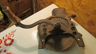 Antique Cast Iron Never Fail Corn sheller