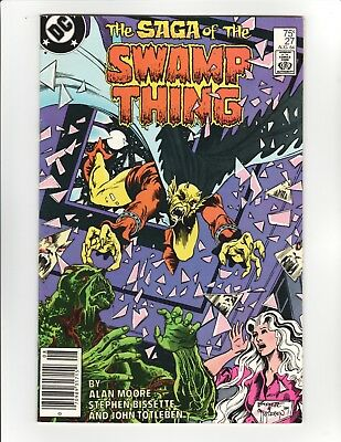 Saga of Swamp Thing #27 (1984) - Alan Moore story,  Etrigan the Demon - 8.5 VF+