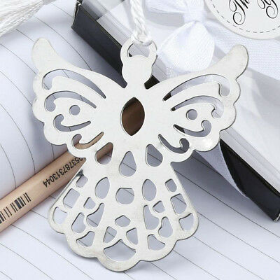 Holy Guardian ANGEL Alloy Bookmark Tassels Stationary Christmas Wedding Gift Hot