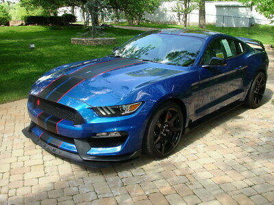 Lightning Blue Mustang >> 2017 Ford Mustang Shelby Gt350 R 73 900 00 Picclick