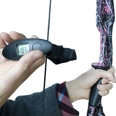 Digital Archery Recurve/ Compound Bow Scale For Measure Draw Weight 88lbs Tool