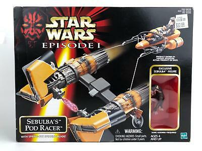"""Star Wars Episode 1 Sebulba's Pod Racer With 3.75"""" Exclusive Figure"""
